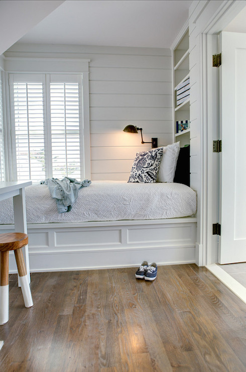 Bookcase Headboard Cottage Bedroom Asher Associates