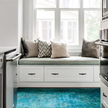 Kitchen Window Seat, Transitional, kitchen, Style at Home