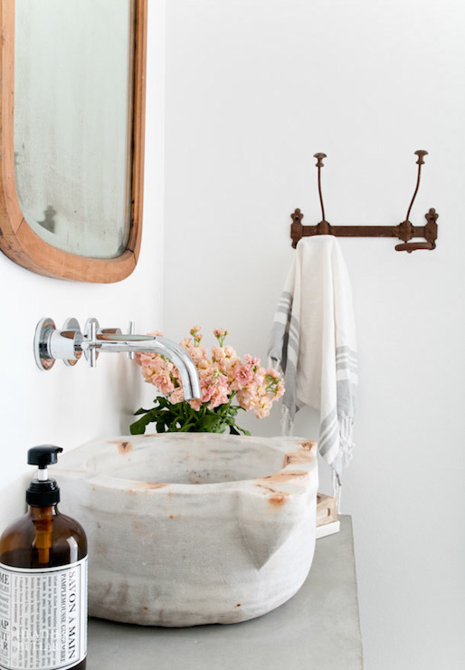 Powder Room Sinks Cottage Bathroom Heather Bullard