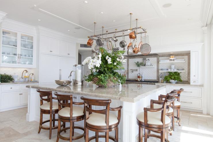 Oversized Kitchen Island Transitional Kitchen Fleming