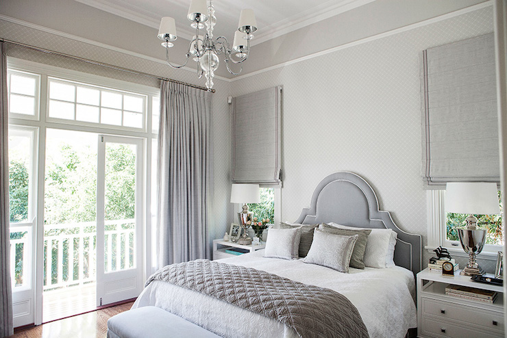 White Gray Bedroom Ideas Part - 16: Grey Bedroom Ideas