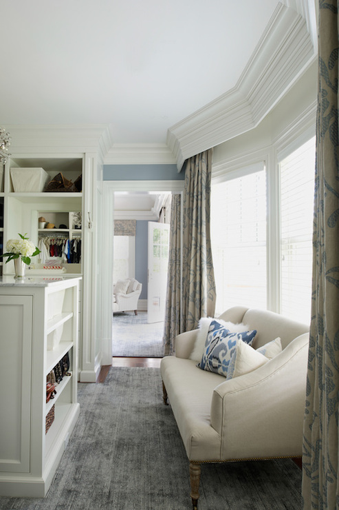 Drapery Rods Hidden Under Crown Molding Design Ideas