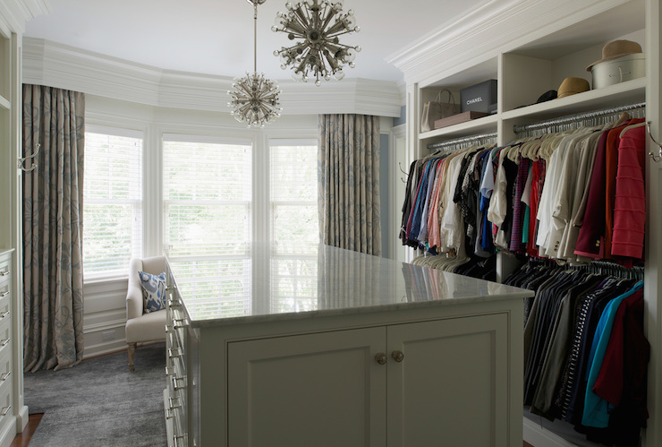 closet bay window transitional closet nightingale design. Black Bedroom Furniture Sets. Home Design Ideas