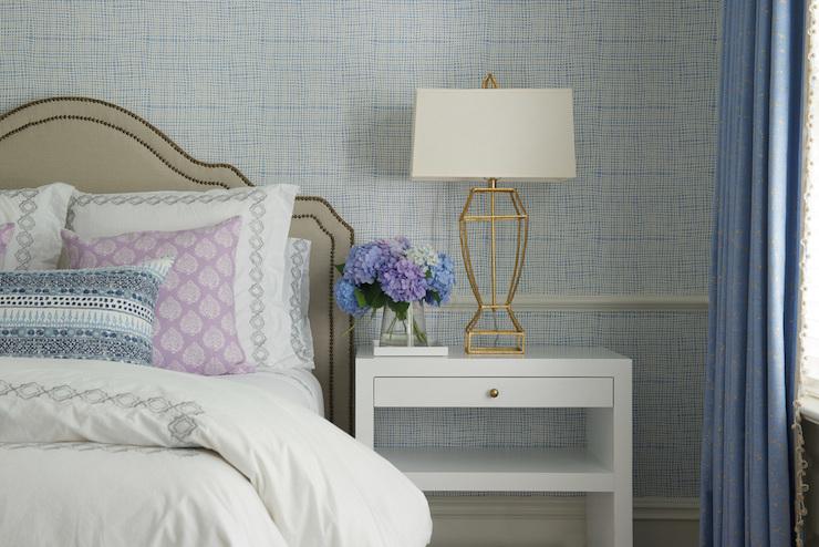 Bedroom Chair Rail Transitional Bedroom Nightingale