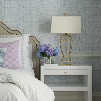 Bedroom Chair Rail, Transitional, bedroom, Nightingale Design