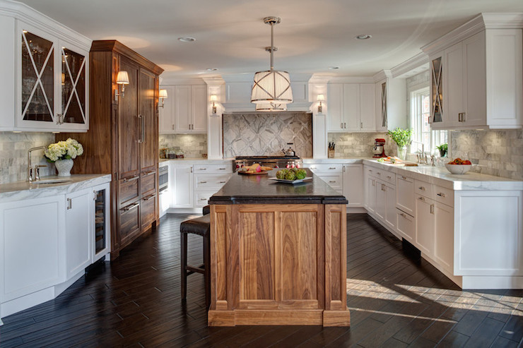Kitchen Wet Bar - Transitional - kitchen - Jane Kelly Kitchen and ...