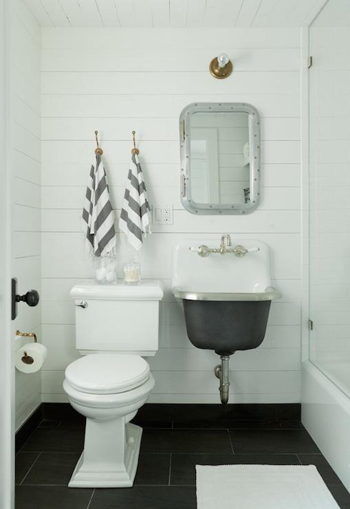 Brand-new Submarine Inset Medicine Cabinet - Cottage - bathroom - Jenny Wolf  IA79