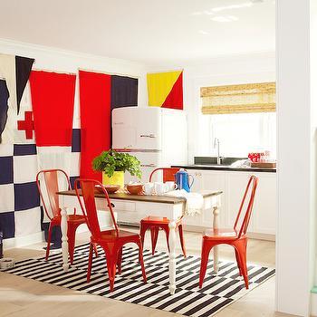 Basement Kitchenette, Cottage, basement, Pratt and Lambert Designer White, Coastal Living