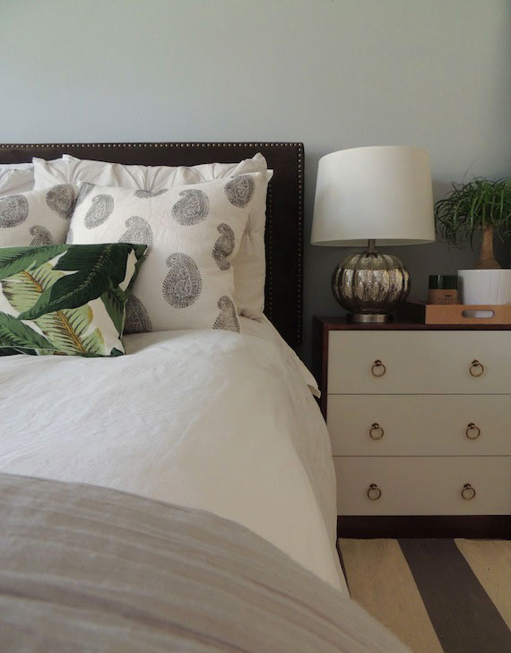 White Ikea Headboard Design Ideas