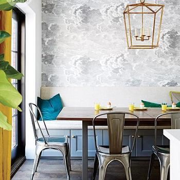 Metal Dining Chairs, Contemporary, dining room, Style at Home