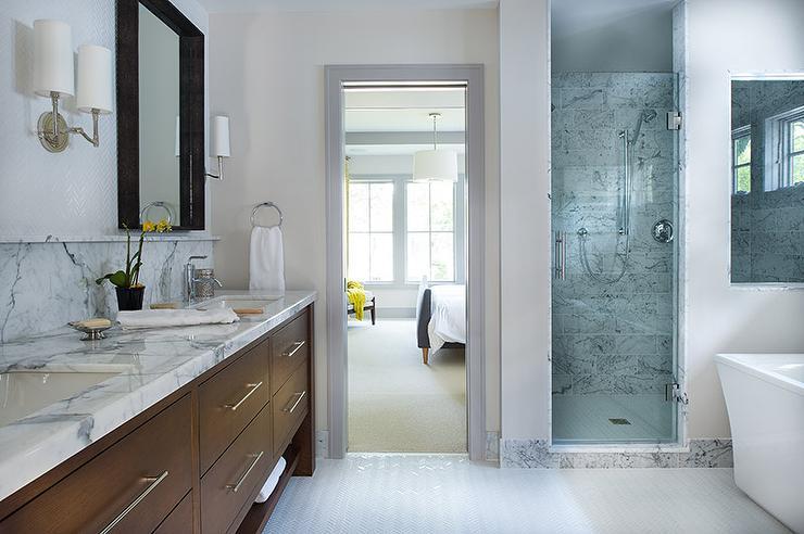 Brown Dual Vanity Sink
