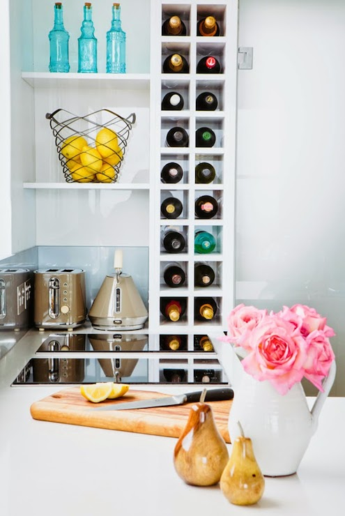 Vertical Wine Rack Design Ideas
