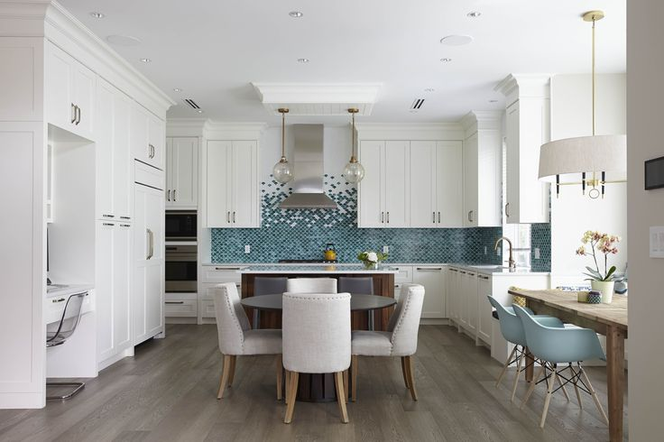 Two Dining Tables Contemporary Kitchen Mak Interiors