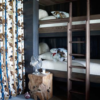 Pine Bunk Beds, Country, boy's room, House Beautiful