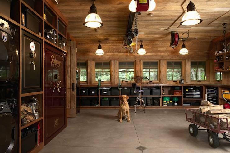 Garage shelves for shoes design ideas for Garage built ins