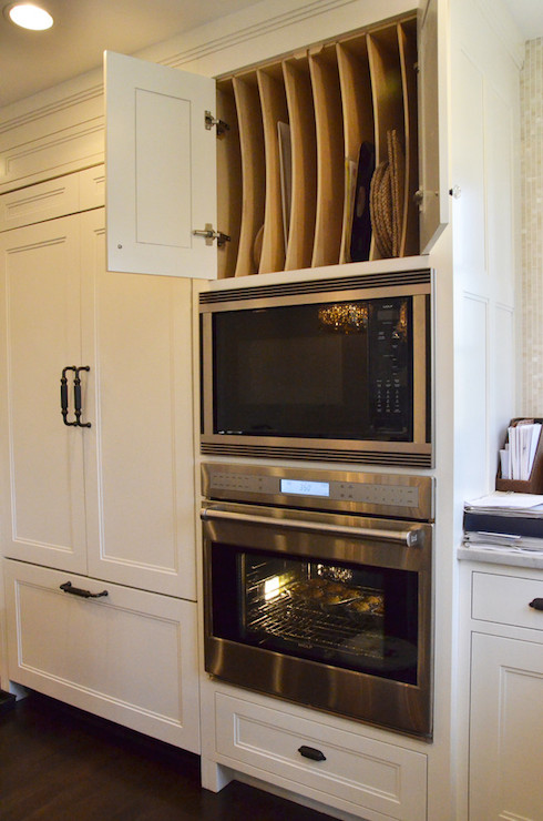 Microwave Over Oven Design Ideas
