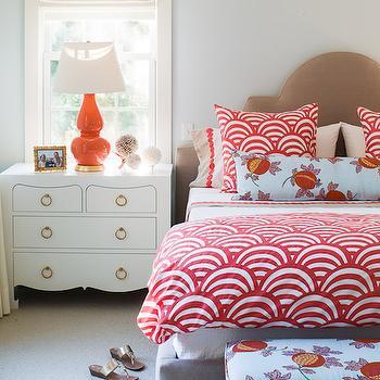 Coral Lamu, Contemporary, bedroom, Liz Levin Interiors