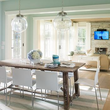 Seafoam Green Dining Room Design Ideas