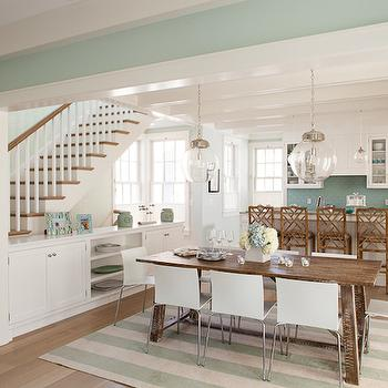 seafoam green living room dining rooms seafoam green grasscloth design ideas 13394