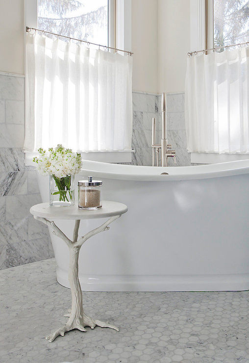 Corner Tub Ideas Transitional Bathroom Space