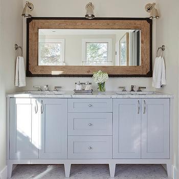 Industrial Vanity Mirror With Tray Design Ideas