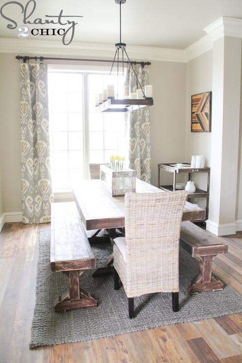 Dining Room Valspar Fairmont Penthouse Stone