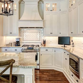Ivory Kitchen Cabinets View Full Size Traditional Features Cabinetry Accented With Oil Rubbed Bronze Hardware