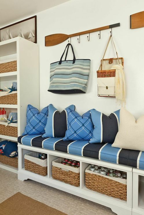 Cottage Mudroom Ideas Cottage Laundry Room Barclay