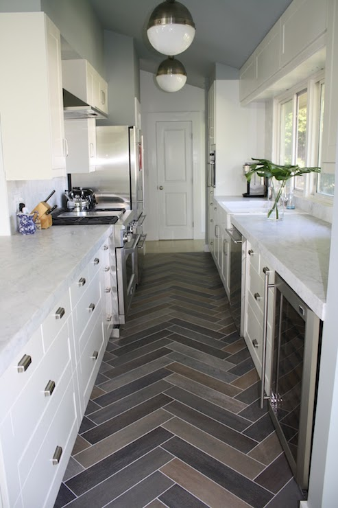 Contemporary Galley Kitchens View Full Size