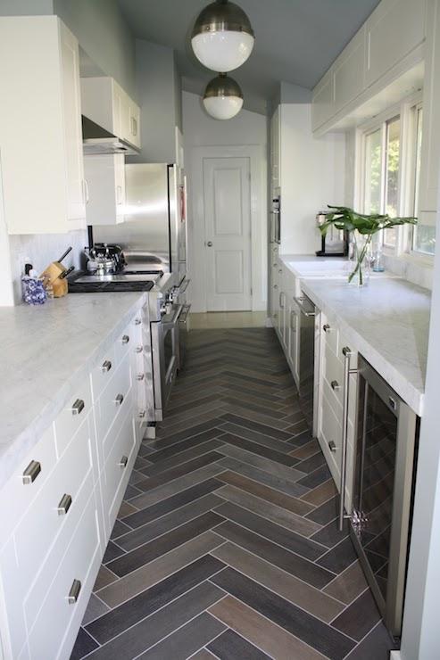 Contemporary Galley Kitchens Transitional Kitchen Design