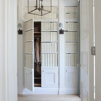 Hidden Closets, Transitional, entrance/foyer, Hayburn and Co