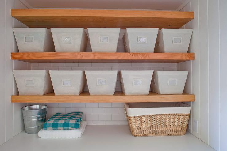 Laundryrooms Floating Shelves In Nook Design Ideas Impressive Container Store Floating Shelves