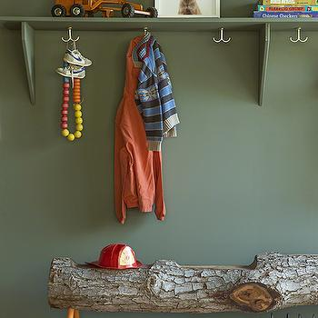 Caldwell Green, Transitional, boy's room, Benjamin Moore Caldwell Green, Reath Design