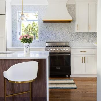 Black Viking Range, Contemporary, kitchen, Benjamin Moore Snowfall, Design Manifest