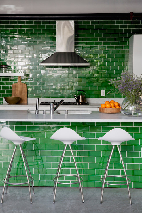 Green Subway Tiles Green Subway Tiles Design Ideas