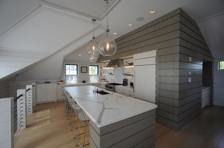 Second Floor Kitchen Contemporary Kitchen Donna Elle Interior