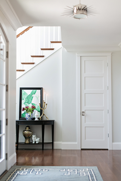 Formal Entryway Ideas With Bench