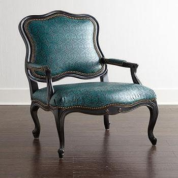 Massoud Cantrell Leather Chair