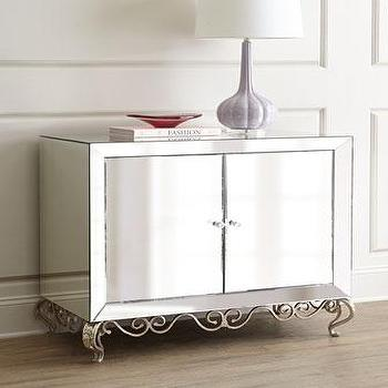 Belrose Mirrored Console I Horchow