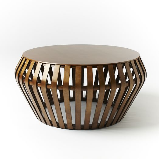Modern Round Coffee Table Look 4 Less and Steals and Deals