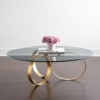 Naples Gold Coffee Table