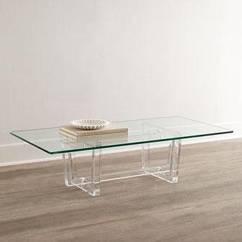 Aldon Acrylic Coffee Table I Horchow