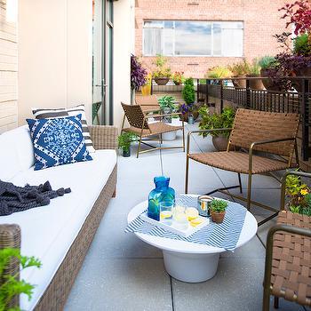 Terrace Furniture, Contemporary, deck/patio, AE Design