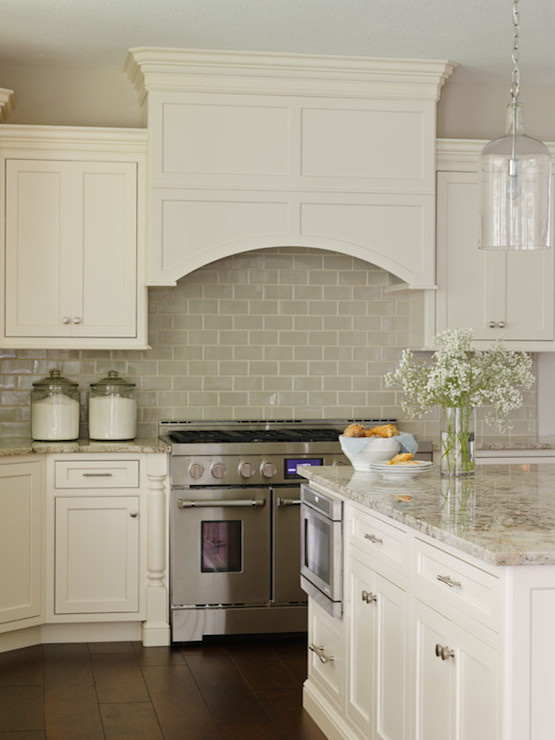 ivory kitchen cabinets with gray backsplash design decor photos