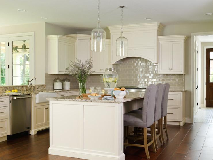 Ivory Kitchen Cabinets Transitional Kitchen Bria