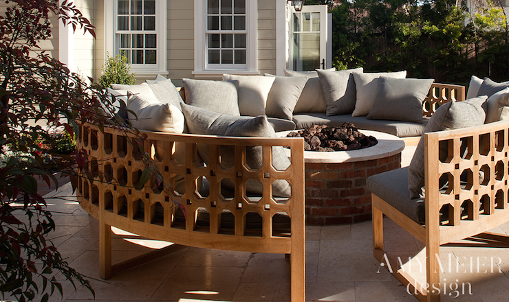 Wonderful Curved Outdoor Sofa