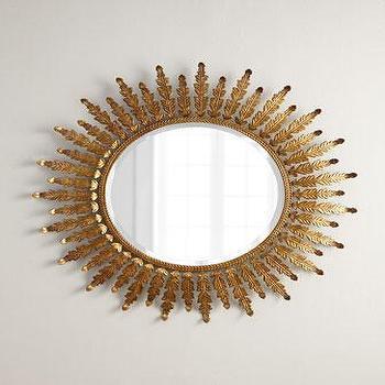 Acanthus Mirror I Horchow