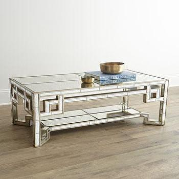 Regina Andrew Design Amherst Silver Coffee Table