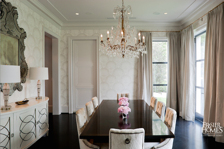 French Dining Room Design View Full Size