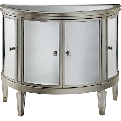 2 Door Mirrored Cabinet - Look 4 Less and Steals and Deals.